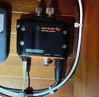 KABEL: Em-Track skal ha en USB-mini kabel for å kunne kobles opp mot PC.