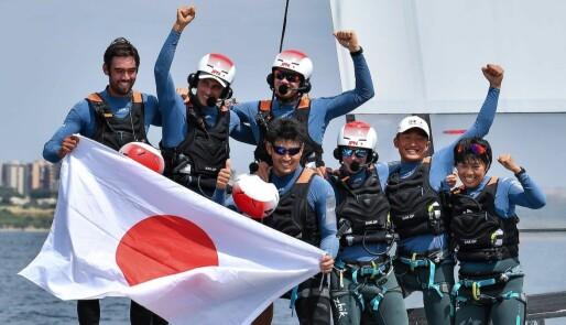 Japan var jevnest og best i Taranto