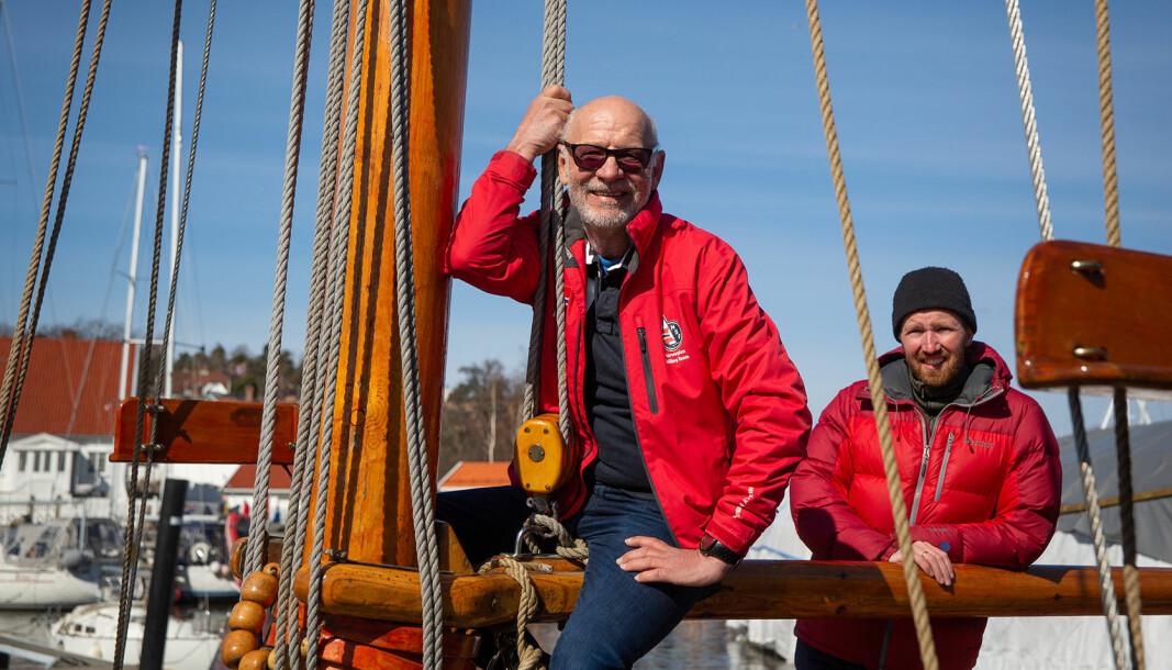 LÆRER'N: Jan Steven Johannessen vil bli seilerlæreren til de som velger å gå på Jeløy Folkehøyskole.
