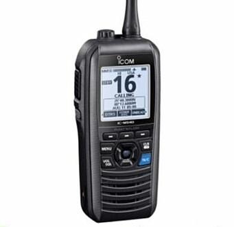 1. Premie: Håndholdt VHF fra Icom, levert av Seatronic.