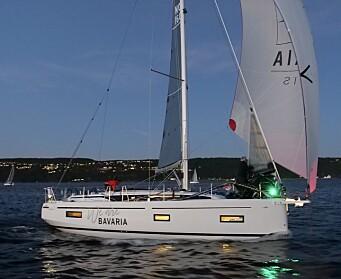 NY: Bavaria C38 har vist seg frem på regattabanen på Østlandet, men ikke på en utstilling.