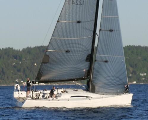 LANDMARK 43: «Game» med Calle Andersen som skipper vant Oslofjorden Rundt suverent.
