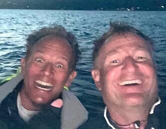 Første båt i mål ved midnatt