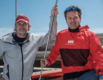 Nilsson og Løken med kjendiser til havs