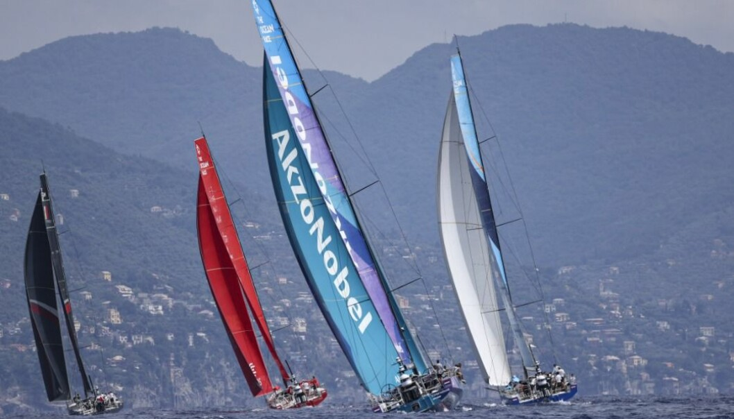 Tett fight i Ocean Race Europe