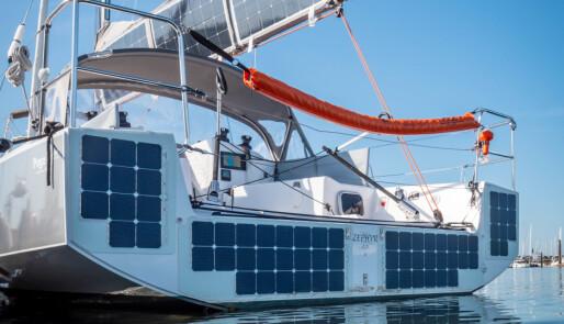Fremtidens seilbåt er elektrisk