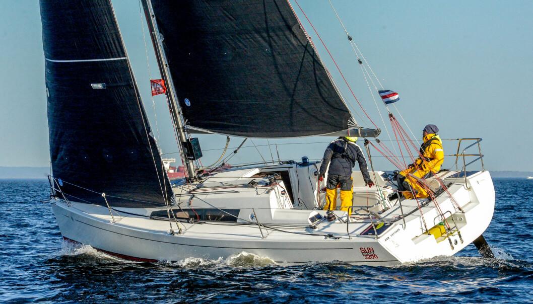 BEST: «Redline» var raskeste båt i den lille klassen i Raymarine TwoStar, arkivbilde fra HH Skagen Race 2018