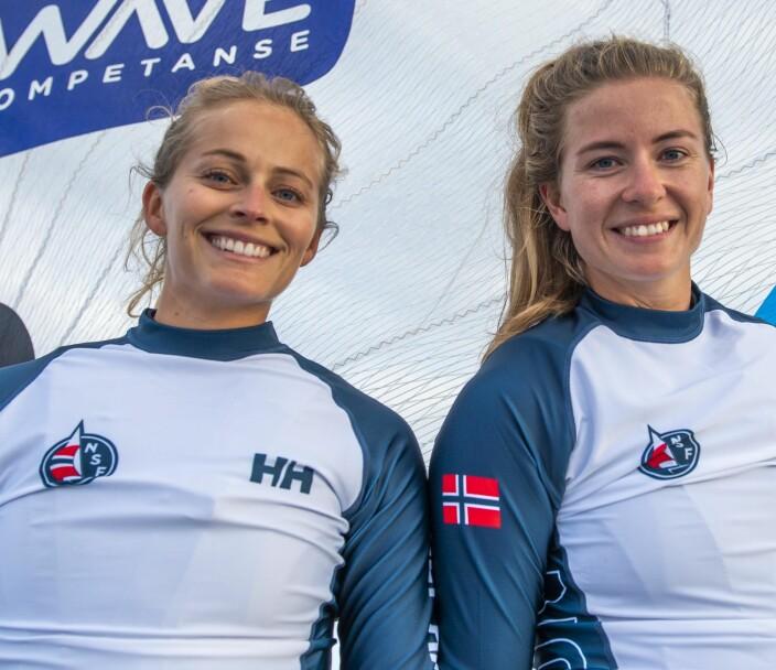 49erFX: Helene Næss og Marie Rønningen,