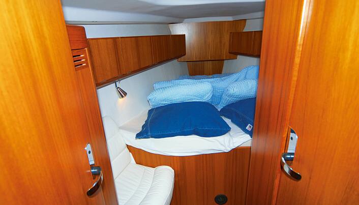 MINUS: Harde madrasser og trangt i fotenden..