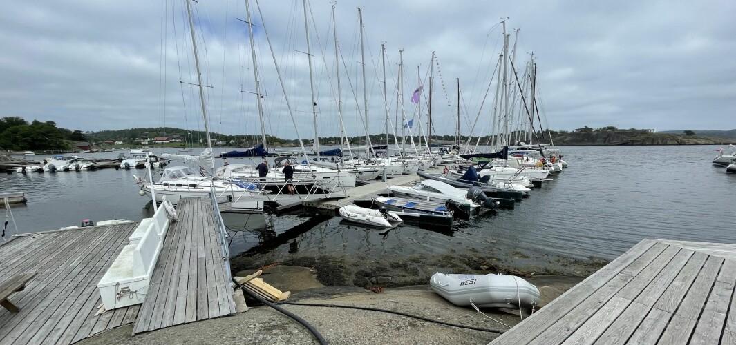 KAPASITET: Seilforeningen i Larvik har plasser til felere enn de 42 båtene som er påmeldt til årets regatta.