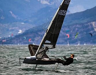 Nicolai Jacobsen utfordret verdens beste foilere