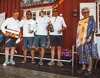 Rustne seilere fikk vasket seg på Hankø