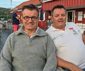 SHORTHANDED: Jon og Emil Moholth utsetter Fasnet Race til 2023.