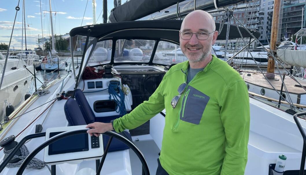 FORNØYD: Helge Jarle Sirum gikk fra en X-362 sport fra 2000 til en RM 1180 fra 2019 og angrer ikke.