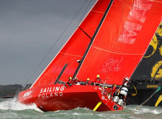 VO65: «Sailing Poland» gjør det sterkt.