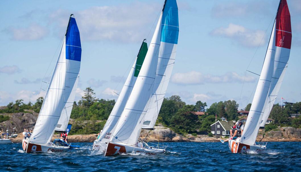 LARVIK: Seilsportsligaens andre runde finner sted i Larvik 14. og 15. august.