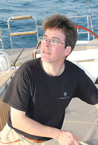 Erik Stromberg, produktsjef i Jeanneau.