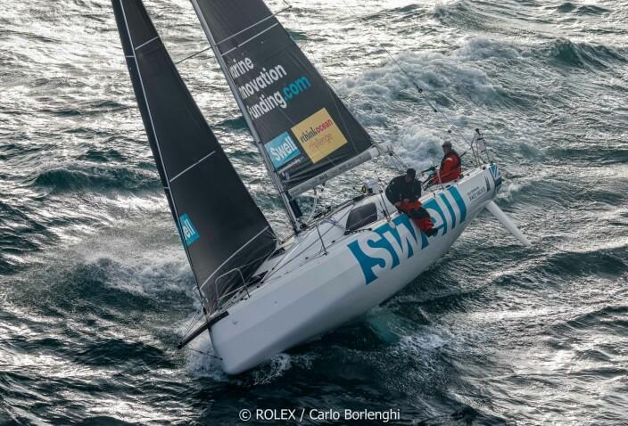 ROLEX FASTET RACE: Sun Fast 3300 «Swell» ble nummer to i shorthandedklassen.