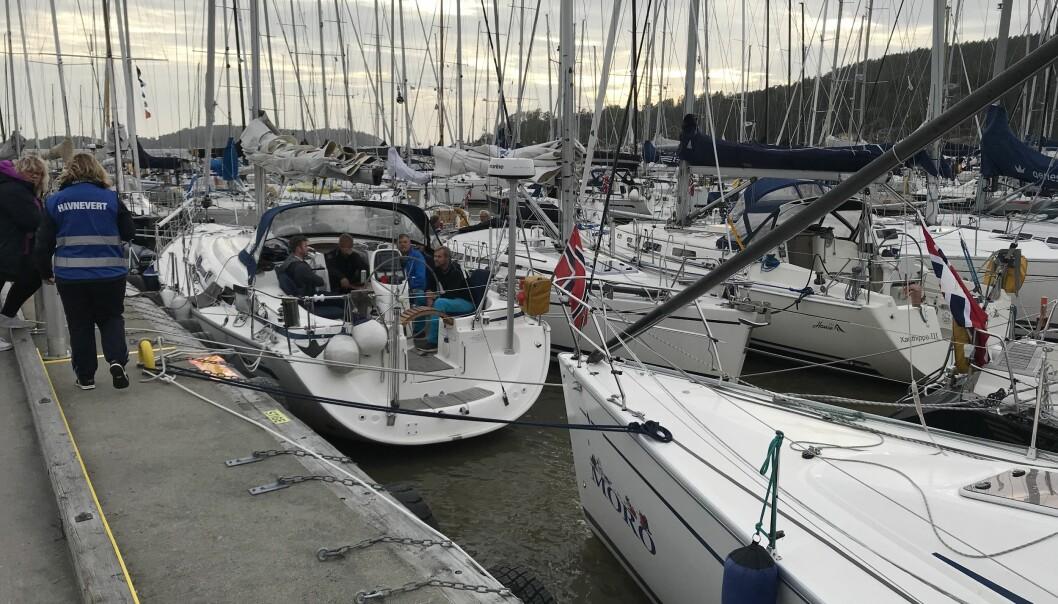 SON: Deltagerbåtene får ikke lov til å ligge like tett som de gjorde i 2019.
