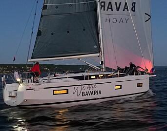 NY: Bavaria C38 har skandinaviapremiere.