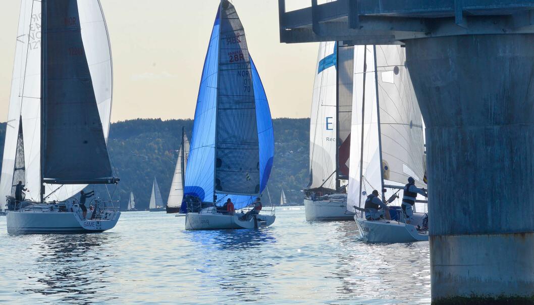 LETT: Det var en smak av sommer under NM i 2020 med 100 båter.