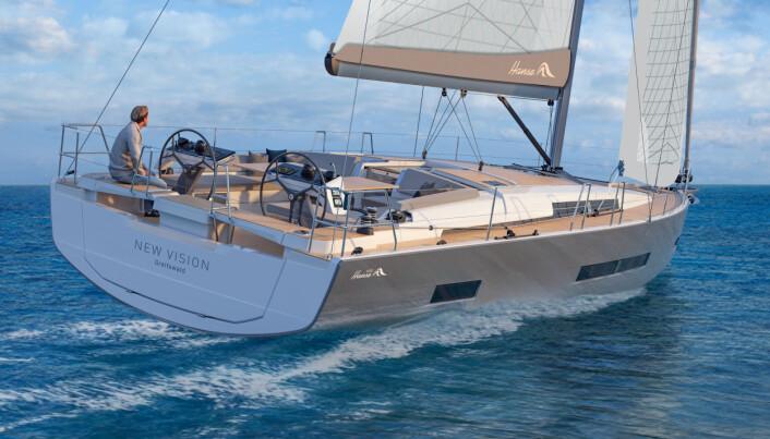 REVOLUSJON: Hanse velger fransk design, og nye 46-foteren er føste modell i ny serie.