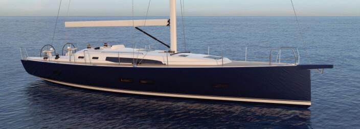 ELEGANT: Nye J/45 har klassiske proporsjoner, som gir elegante linjer.