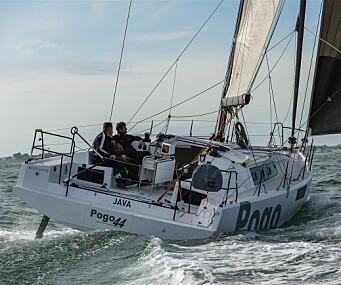 BREI: Pogo fortsetter i vanlig stil, og den nye 44-foteren har mye til felles med suksessen på 36 fot.