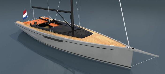 DAGSEILER: Saffier finsliper sin modellserie og bytter ut sin velykkete 33-foter