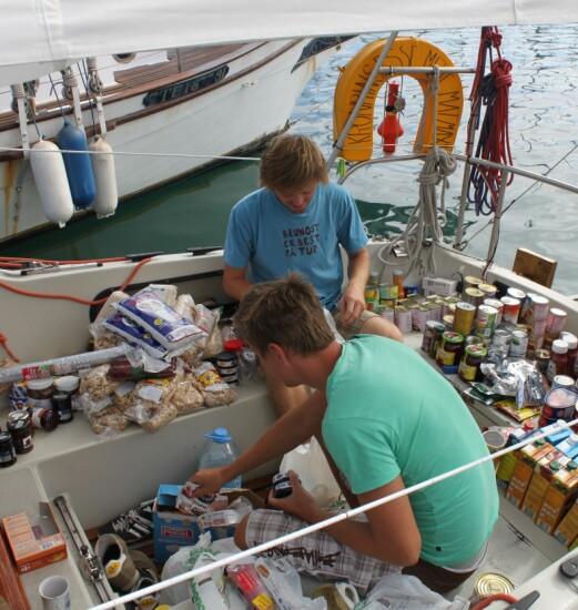 FORSYNING: Bunkring for Atlanterhavet på Kanariøyene.
