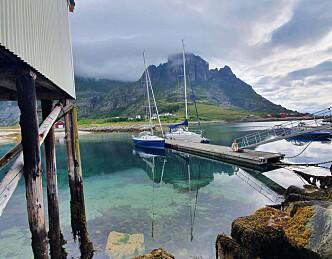 Besøkte havner på Helgelandskysten