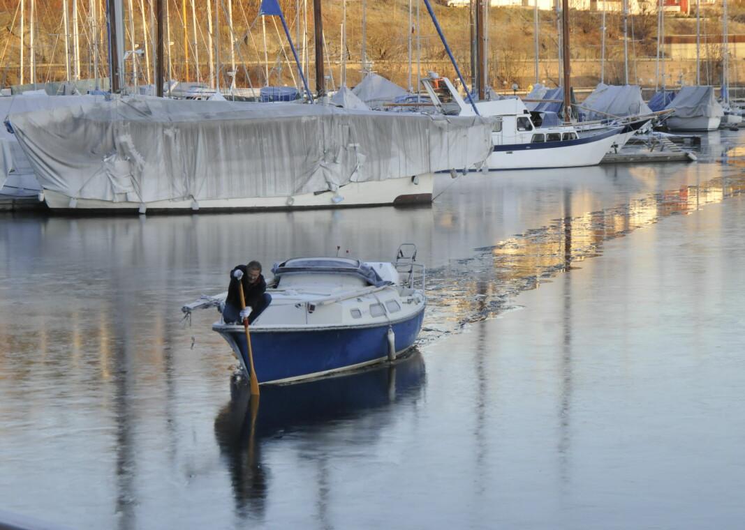 UTFORDRING: Økt båtsalg og redusert opplagsareal på land gjør at det kan bli kamp om opplagsplassene i vinter.