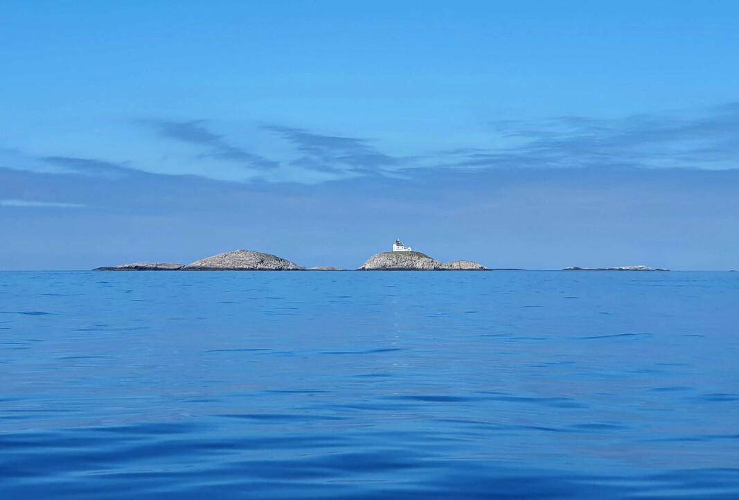 IDYLL: Tonnevis av plast skylles opp langs vår idylliske kyst, her Helgeland.