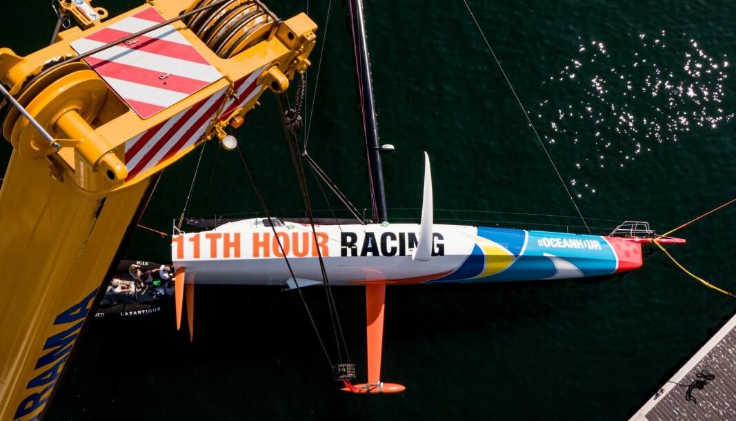 IMOCA: Guillaume Verdier står bak den nye båten utviklet for The Ocean Race. Båten vil seile med amerikansk flagg.