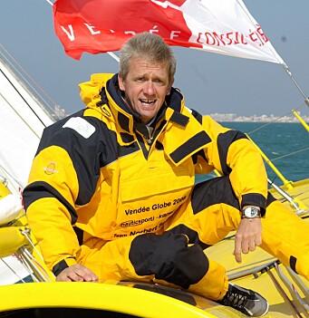 VETERAN: Norbert Sedlacek Koch har gjennomfør Vendee Globe, men har ikke lykkes med sin nye 60-foter.