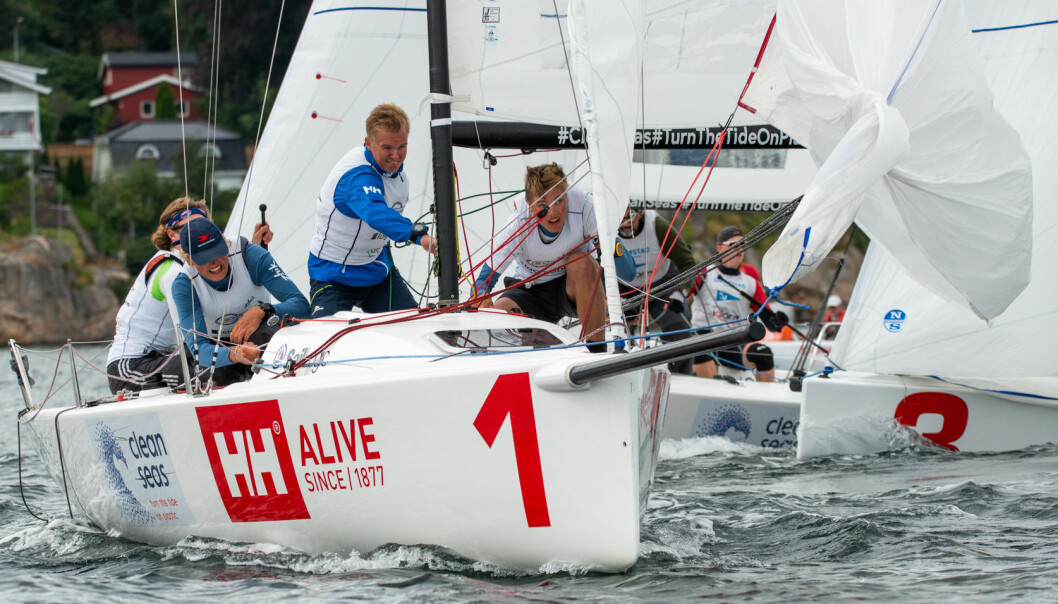 TREDJE RUNDE: Tredje runde i seilsportsligaen går i Florø denne helgen, og et av lagene som vil kjempe der kommer fra Ran Seilforening. Laget ledes av Oscar Nøttingnes Skovly som ble norgesmester i ILCA 6 tidligere i år.