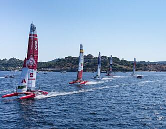 Røket fokkskjøte kostet Danmark finaleplass i SailGP