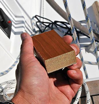Finn Flyer: Skottene er bygd opp av skum og glassfiber med kun et tynt lag tre på utsiden.