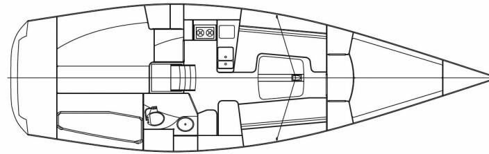 INNREDNING: FinnFlyer har et smalt forskip og skroglinjer som går ut over volumet under dekk.
