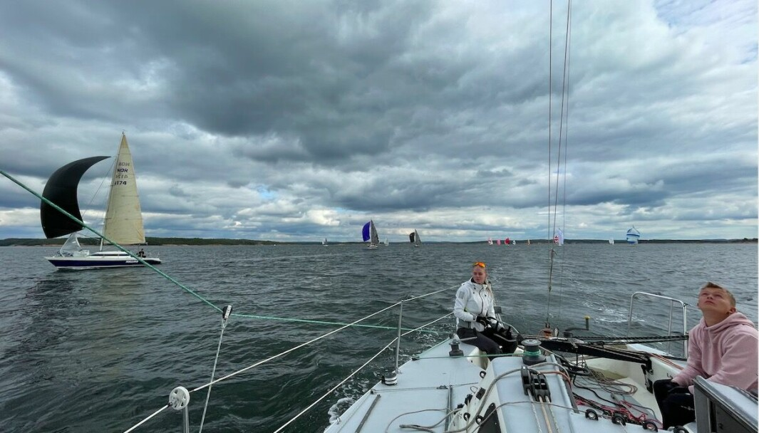 MK-BÅT CUP: «Halling» tilbake på regattabanen igjen mot restaurerte halvtonnere.