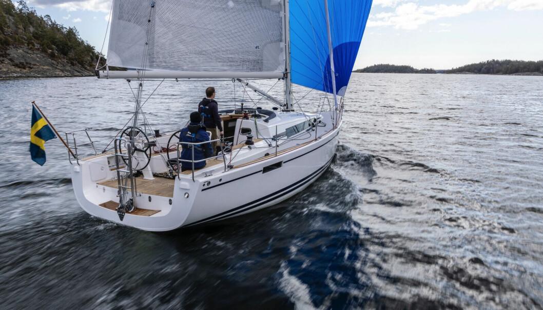 SUKSESS: På Oppet Varv i August var 2/3 av Arcona 385 solgt til Norge.