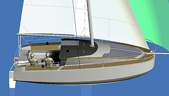 VOLUMINØS: Revolution er en Davis Raison-design, mannen bak de raskeste Mini6.50-båtene.