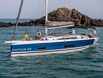LOKAL: Dufour 470 blir bygget i La Rochelle