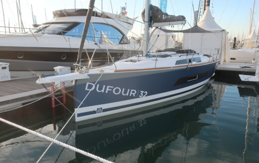 Sniktitt på nye Dufour 32