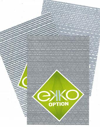 KVALITETER: EKKO leveres i tre ulike tykkelser.
