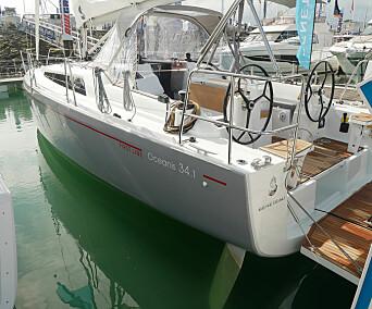 SKROG: Båten har myke knekkspant bak mot hekken som skal gi økt skrogstabilitet. Den har også to ror.