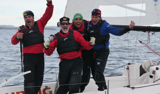 Finnjollelaget ble mesternes mester 2021