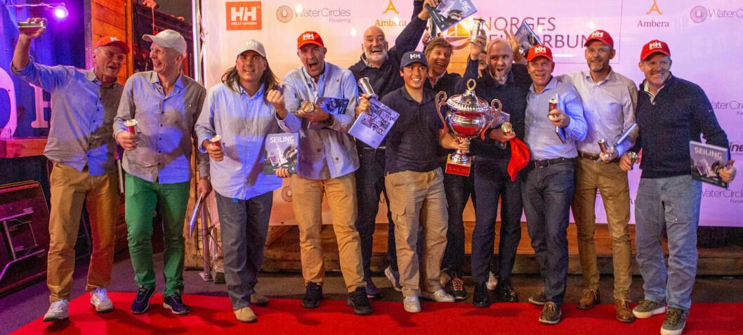 Full fart på seilsportens Oscar